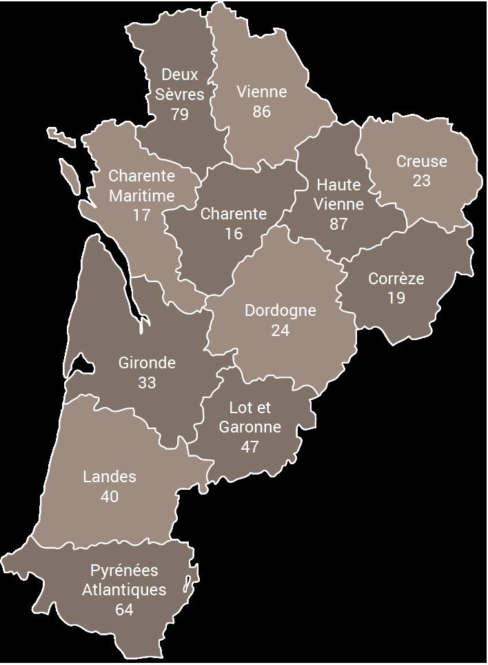 Démolition béton, sciage béton, carottage béton, découpe béton, démolition au brokk en Nouvelle Aquitaine - Aquitaine, Limousin et Poitou-Charentes